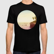 Salt Water Dreams Black Mens Fitted Tee MEDIUM