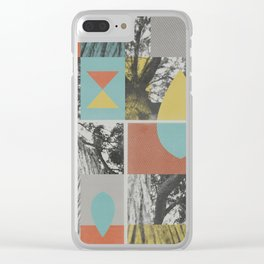 like a tree Clear iPhone Case