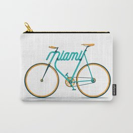 Miami Typo - Bike Carry-All Pouch