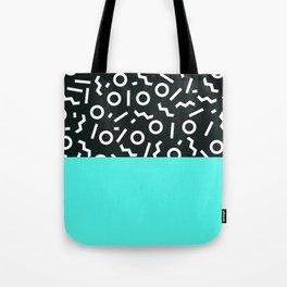 Memphis pattern 48 Tote Bag