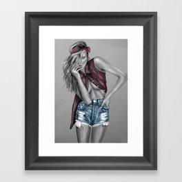 + Take Care + Framed Art Print