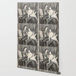Raphael and the Fornarina Wallpaper