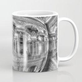 Ode To MC Escher Library of Congress Orb Coffee Mug