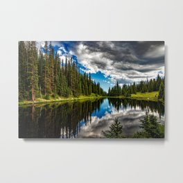 Lake Irene, Rocky Mountain National Park (Colorado) Metal Print