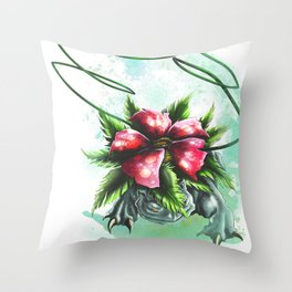 Vine Whip Throw Pillow