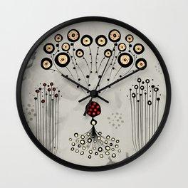Mystery Molecule Wall Clock