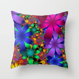 towel full of colors -a- Throw Pillow