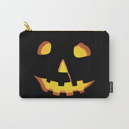 HALLOWEEN Carved Pumpkin • Costume & Trick-or-Treat Bag Carry-All Pouch