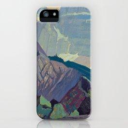Goat Range Rocky Mountains, 1932, McMichael Canadian J.E.H. Macdonald iPhone Case