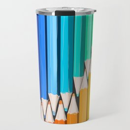 Rainbow of Creativity Travel Mug