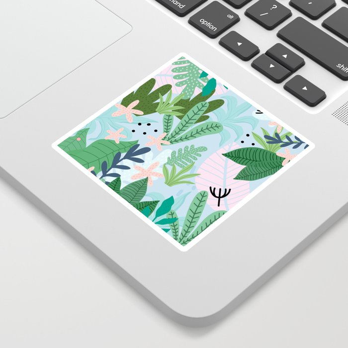 Into the jungle Sticker