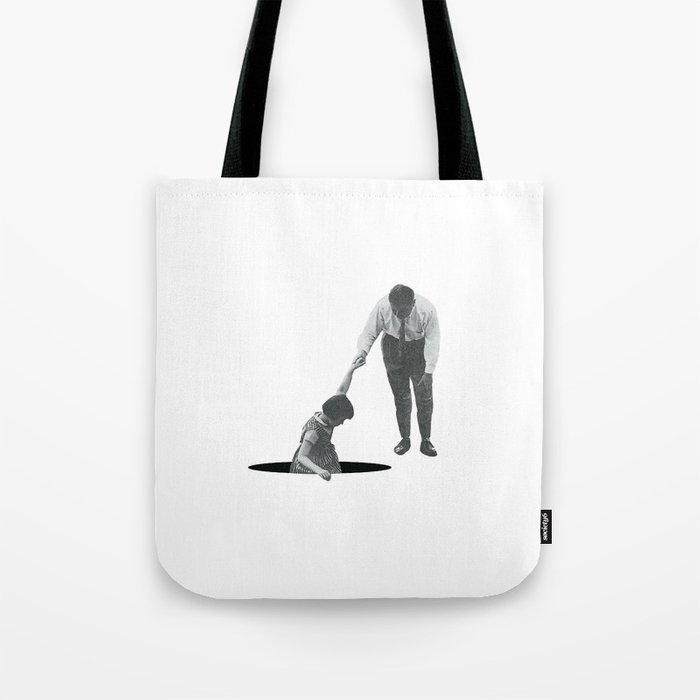 Let Me Go or Squeeze Me Tighter Tote Bag