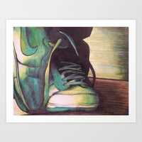 nike Art Prints featuring Nike by Taylor Foerster