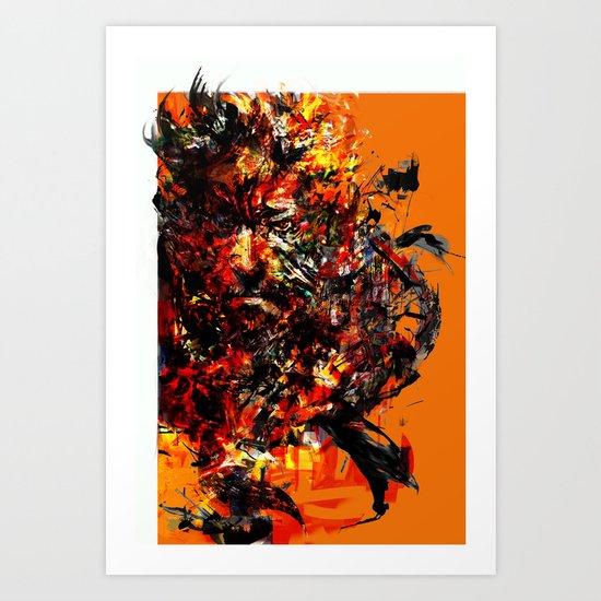 metal gear Art Print