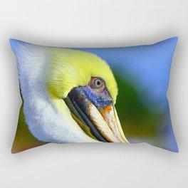 Pelican in Ft. Myers Rectangular Pillow