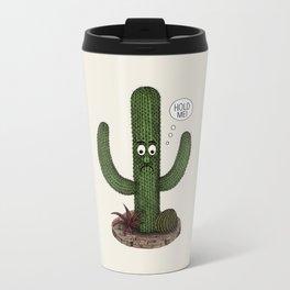 Cactus Need Love Too Metal Travel Mug