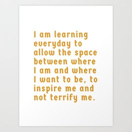 Learning Everyday Art Print