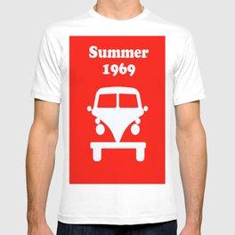 Summer 1969 - red T-shirt