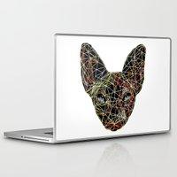sphynx Laptop & iPad Skins featuring Geometry Sphynx by barmalisiRTB