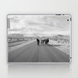 Spring Mountain Wild Horses Laptop & iPad Skin