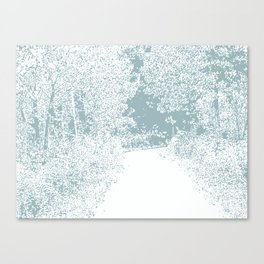 Walk in the Forest Canvas Print
