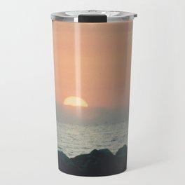 Sunset Ocean Bliss #2 #nature #art #society6 Travel Mug