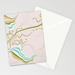 Mild autumn winds Stationery Cards