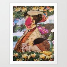 JANE_EDWARD & L'EDEN CAPOVOLTO Art Print