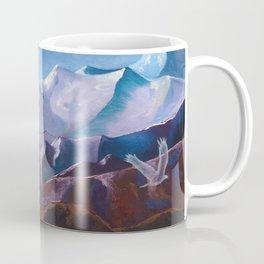 Nomadic Life - Mongolian Steppes Coffee Mug