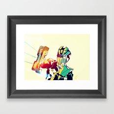 Dead Space Color Framed Art Print