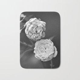 A Pair of Roses Bath Mat