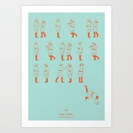Monty Phyton Art Print