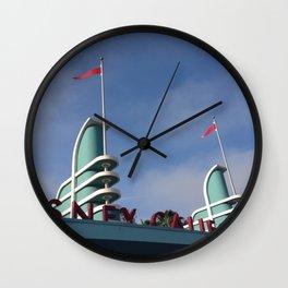 California Adventure Wall Clock