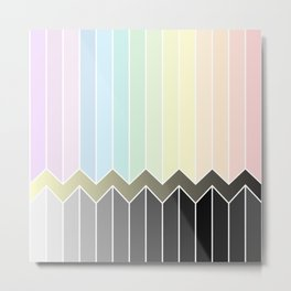 Colourful Metal Print