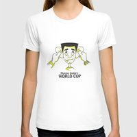 world cup T-shirts featuring Mummy Daddy's World cup by Jyoti Khetan