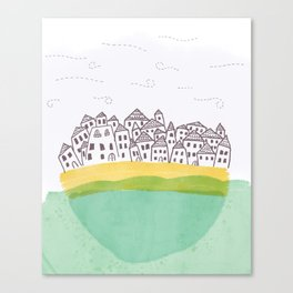 Tiny Town Canvas Print