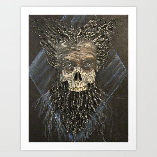The Mad Emperor Art Print