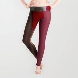 Red Blush Leggings