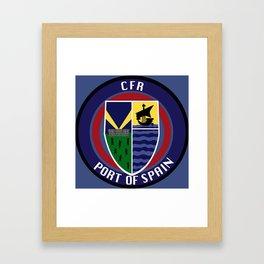 CFR - Port Of Spain Framed Art Print