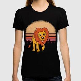 Lion Design T-shirt