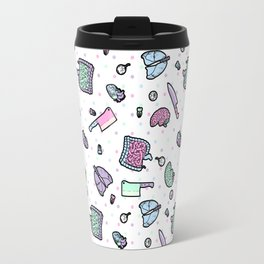 Sweet Yandere (White) Travel Mug