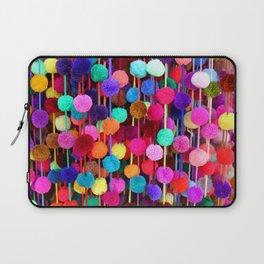 Rainbow Pom-poms (Horizontal) Laptop Sleeve