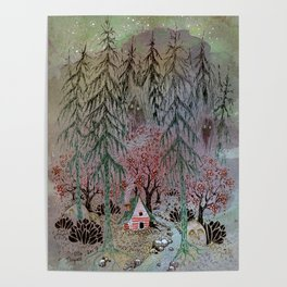 A little house in the woods Poster