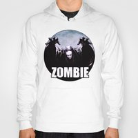 zombie Hoodies featuring ZOMBIE by Zombie Rust
