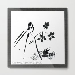013/100: COMMON STORK'S BILL [100 Day Project 2020] Metal Print