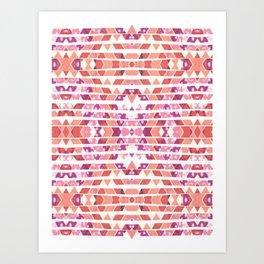 Tribal Explosion Art Print