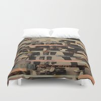 boys Duvet Covers featuring The Boys by Claire Elizabeth Stringer