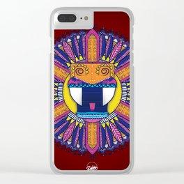 Mandala Alebrije Clear iPhone Case