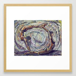 Enso Framed Art Print