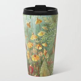 Scientific Illustration of Moss in the Forest -  Haeckel, 1904 Travel Mug